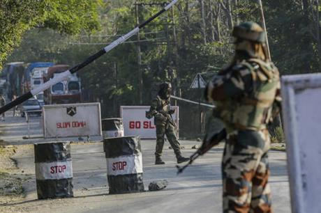 Indian, Pakistani troops fire at each other in disputed Kashmir