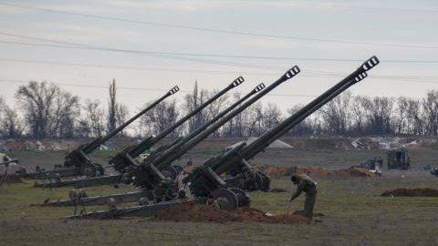 Ukrainian Defense Ministry reports 22 militants' attacks in Donbas over past day