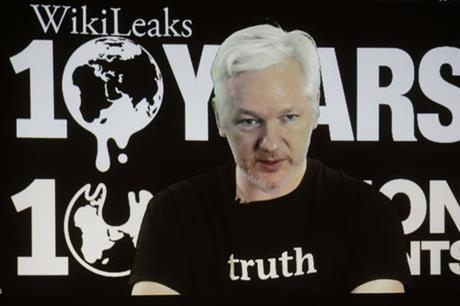 WikiLeaks says Ecuador cuts off Julian Assange's internet access