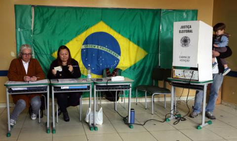 Brazilians are disappointed with political system