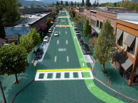 Solar Roadways Installs Energy Tiles In Idaho