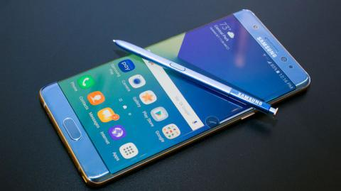 Samsung halted Galaxy Note 7 production