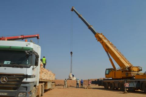 Jordan to permit regular aid drops by crane to Syrians stranded on sealed border