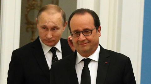 Putin plans to visit France even after Hollande's comment