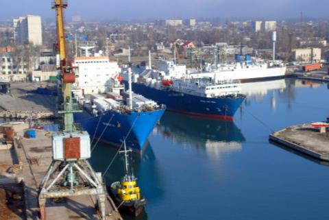 Skadovsk port resumes ferry route to Turkey