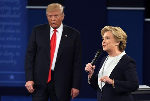 TV audience went down for second Trump-Clinton debate