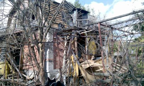 Vodyane town in Donbas destroyed by Pro-Russian militants' artillery (PHOTO)