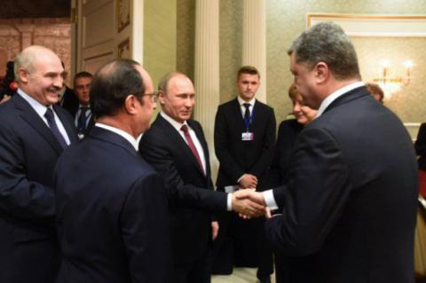 First summit in a year for Poroshenko, Putin, Hollande and Merkel to be held tomorrow