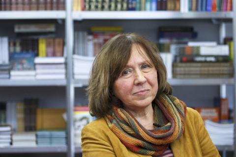 Svetlana Alexievich in the shortlist of the British non-fiction award