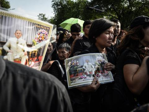 Thailand is running out of black clothes amid King's death mourning