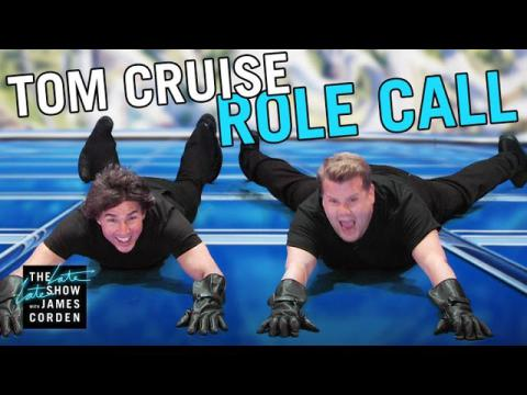 Tom Cruise acted out 23 roles in 9 minutes