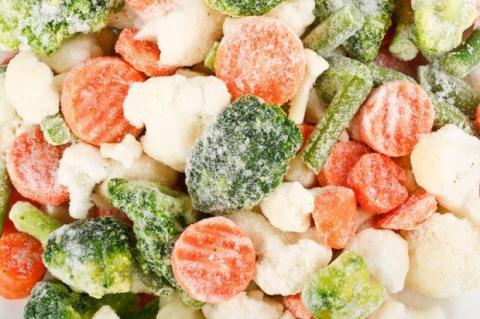 Ukrainian export of frozen vegetables increased