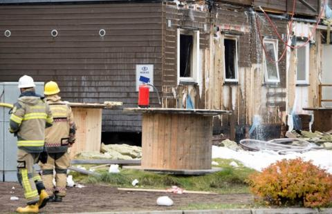 Second asylum center arson for the week in Sweden