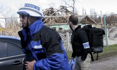 OSCE armed mission should control Ukraine-Russia border before Donbas elections - Ukrainian president
