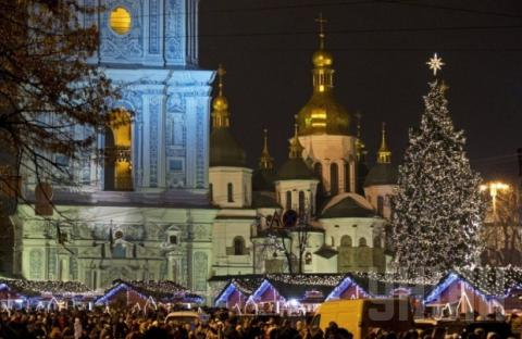 Kyiv to spend UAH 150 thousand for Christmas and New Year celebrations