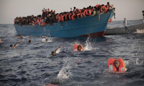 About 2,200 migrants rescued in Mediterranean