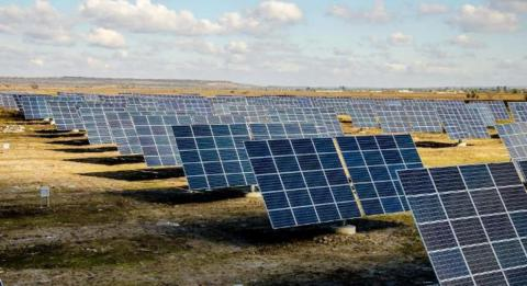Ukraine opened Eastern Europe's first solar tracking power plant