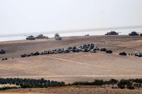 Turkey has no plans to stop its offensive in Syria