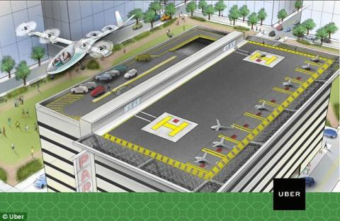Uber promised flying taxi in 10 years