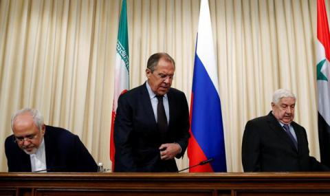 Lavrov suggested Marshall Plan for Syria