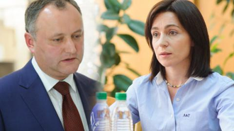 Pro-Russian candidate Dodon won first round of presidential elections in Moldova