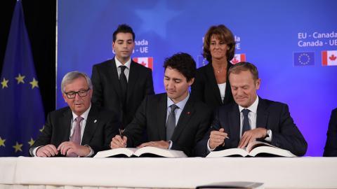 EU and Canada signed trade deal