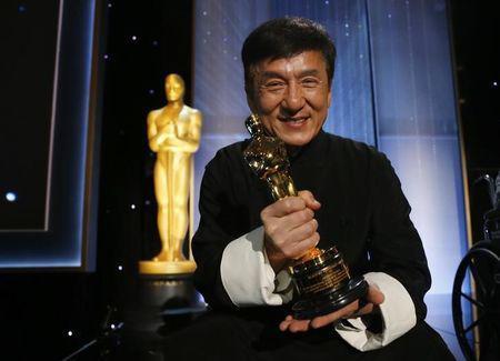 Jackie Chan finally won an Oscar