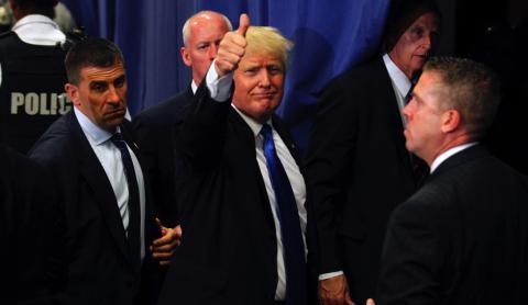 Donald Trump leads Hillary Clinton in polls, ABC News, Washington Post