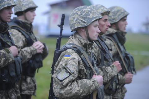 There is not a single drafted soldier in Donbas combat area - Ukrainian president