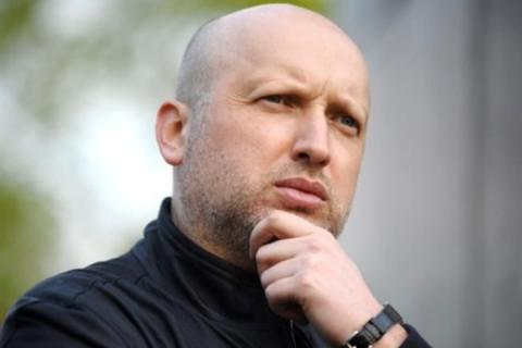 Turchynov: Sanctions against Russia should not be stopped