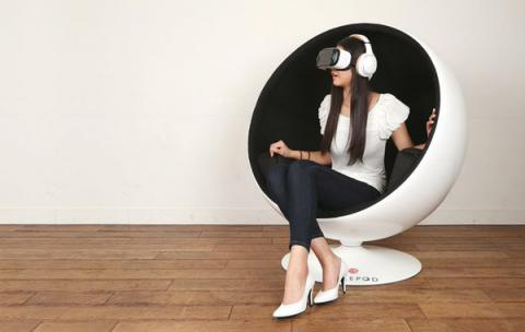 Away, fools, and leave me to my VR egg