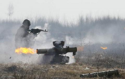 Ukrainian army positions in Donbas came under 52 separatists' attacks - ATO HQ