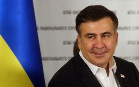 Odesa's ex-governor Saakashvili plans to engage in Ukrainian politics