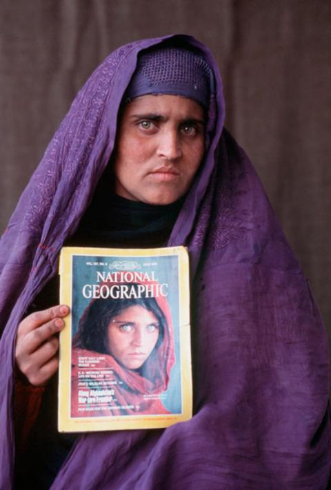 'Afghan girl' Sharbat Gula returns home after deportation from Pakistan