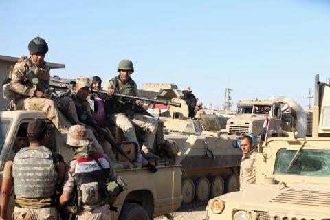 Iraqi forces seized some parts of Mosul