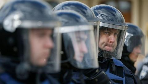 Ukrainian law enforcers upscale security measures in Kyiv due to terrorist attack danger
