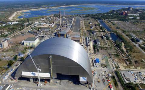New cover began to be placed over Chornobyl NPP (VIDEO)