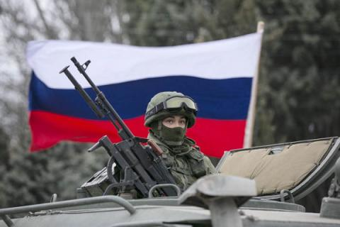Russia conducts warfare exercises near Ukrainian border