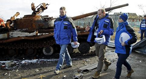 OSCE SMM reports highest number of ceasefire breaches in Donbas since beginning of 2016