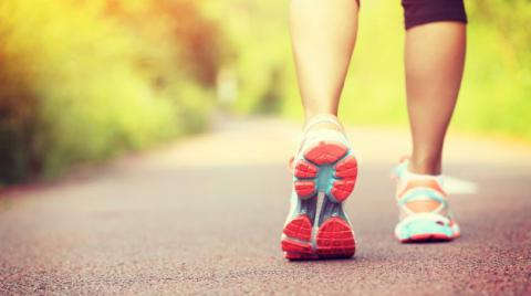 Walking uses more than just feet
