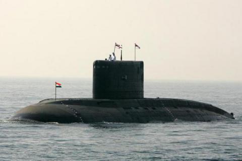 Pakistani navy tracked Indian submarine