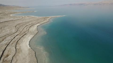 The Dead Sea Is Dying Out, Receives Rescue By Swimmers And Organizations