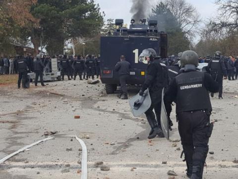 1,500 migrants riot in Bulgarian migrant camp