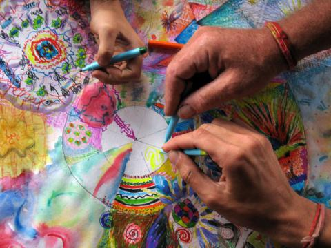 Creative activities promote day-to-day wellbeing