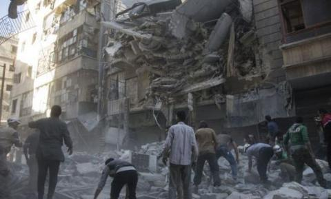 Syrian army, allies drive rebels from eastern Aleppo