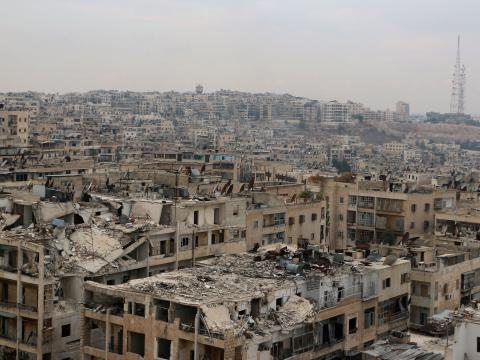 UN: 16,000 people displaced in Syria's Aleppo
