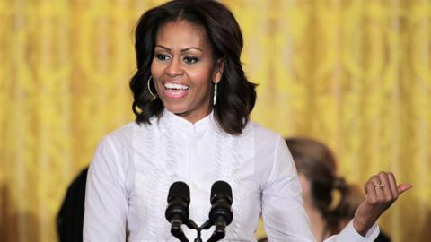 Obama says wife Michelle will never run for US office