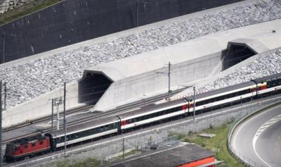 World's longest tunnel starts regular operations in Switzerland