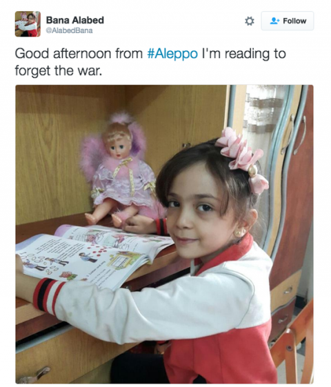 #WhereIsBana: Twitter account of 7-year-old Aleppo girl disappears