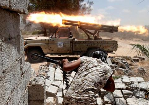 Libyan forces close to retake Sirte from IS